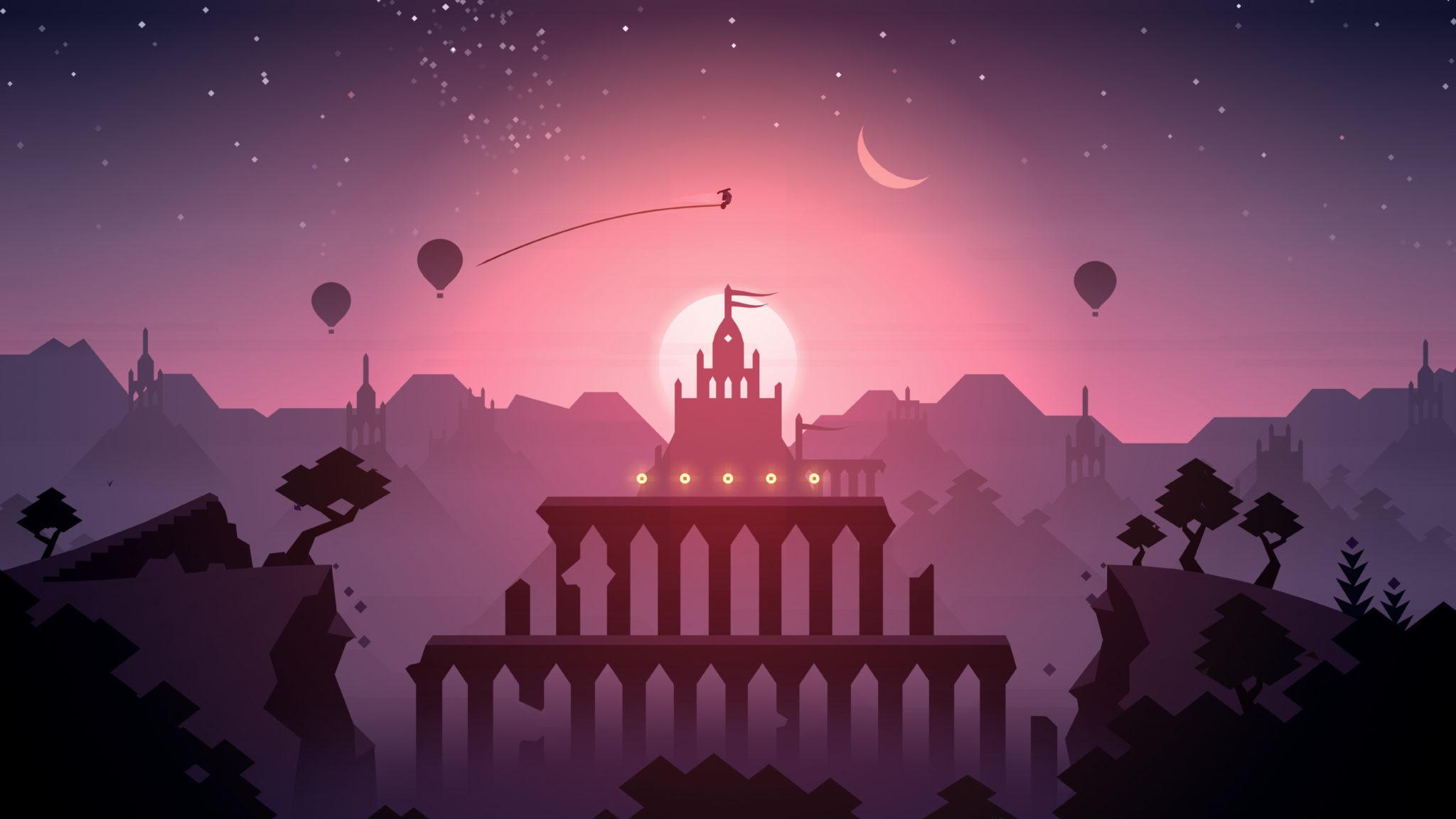 Altos Adventure minimalist game