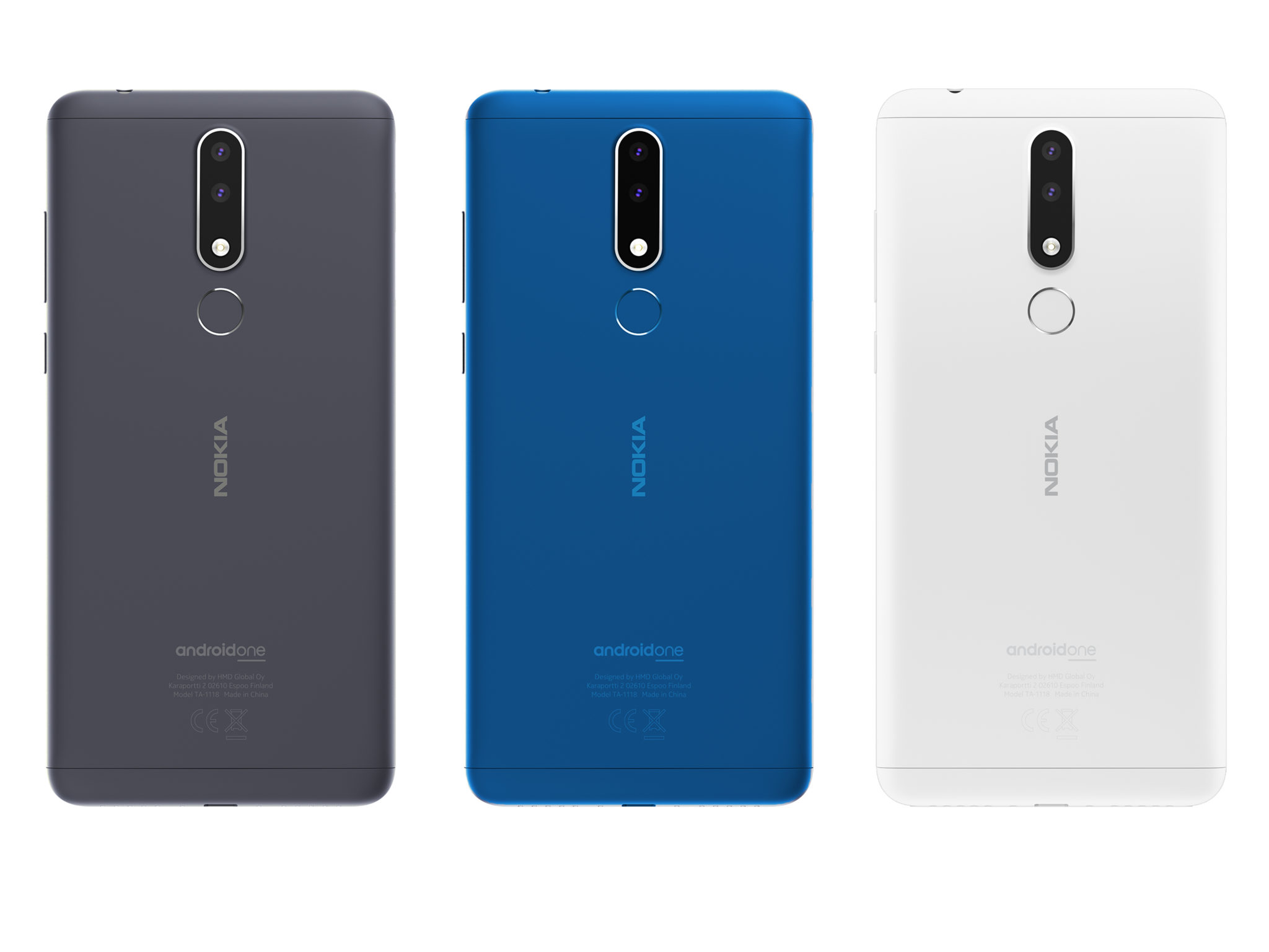 Nokia 3.1 plus New and improved colors