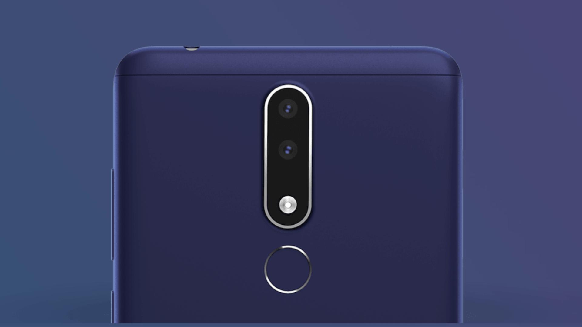 Nokia 3.1 plus Finger Print