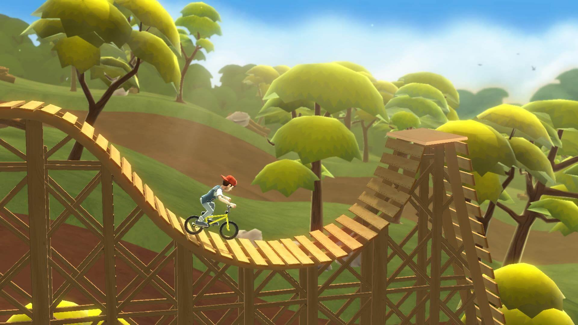 Pumped BMX 3 is the epitome of skill and dexterity games