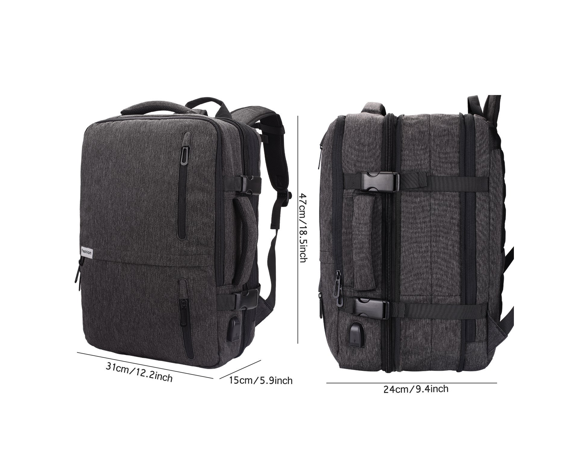 40L Laptop Backpack - lightweight and waterproof