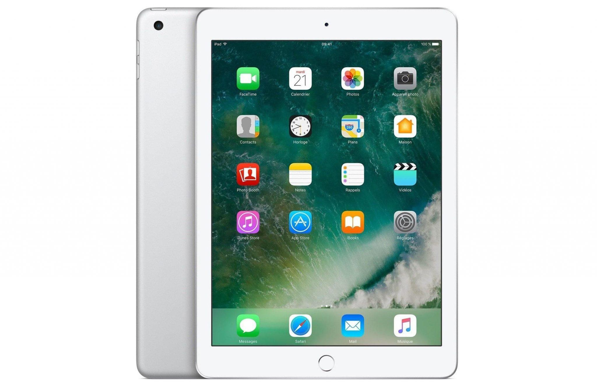iPad mini 4 silver color