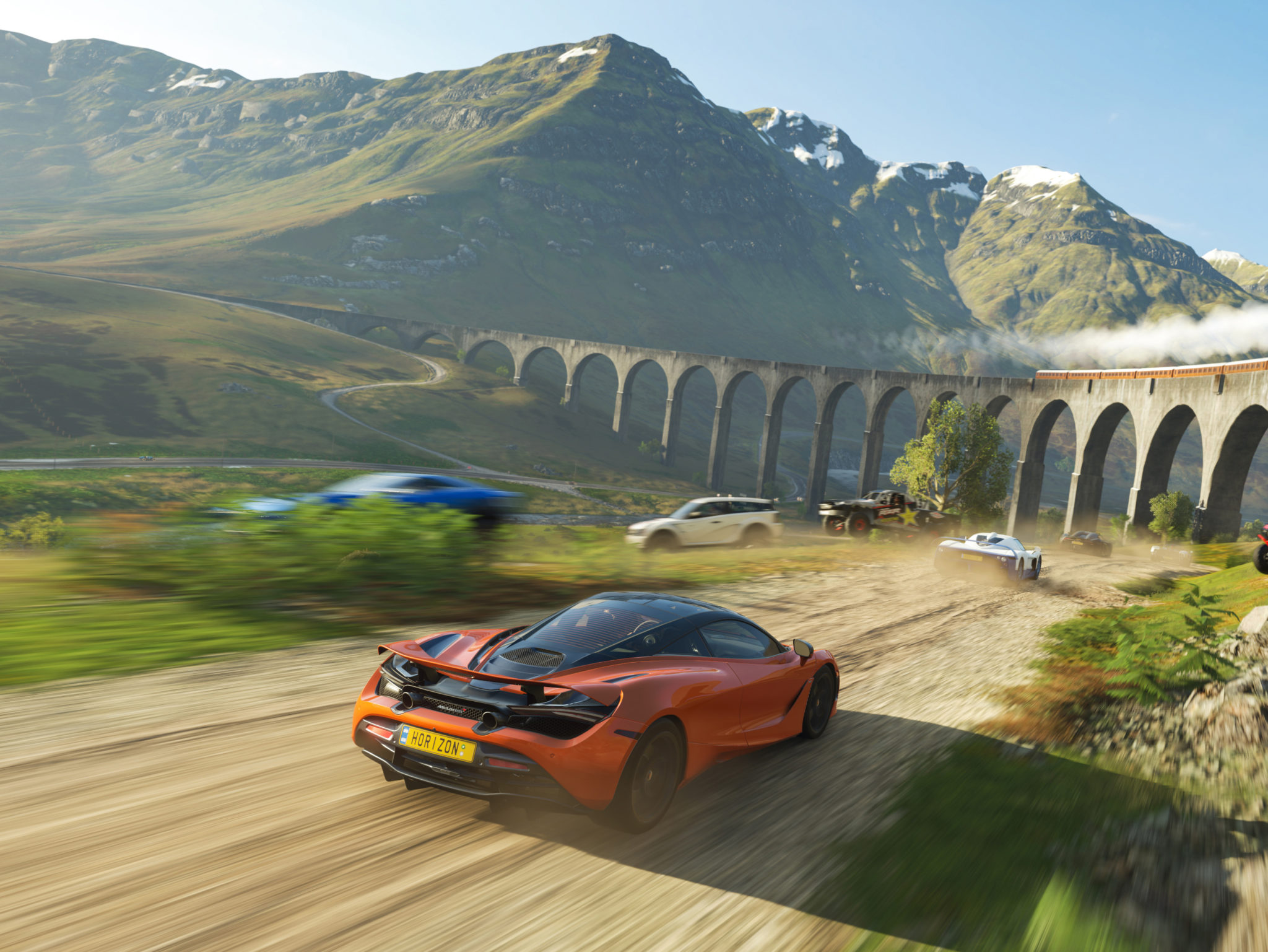 Experience unique ideas and gameplay opportunities in Forza Horizon 4