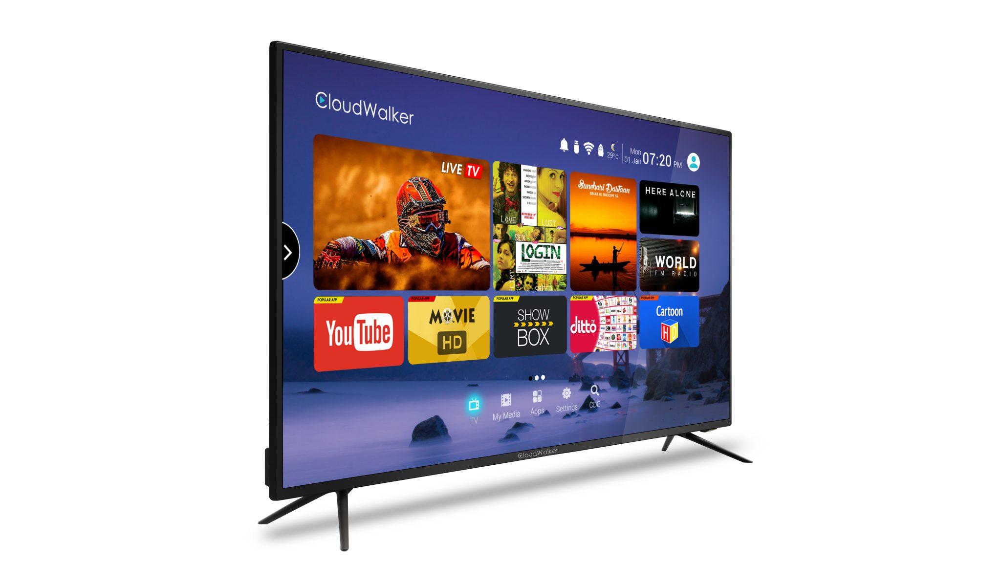 Full hd cloudwalker 4k led tv – good and impressive value for money