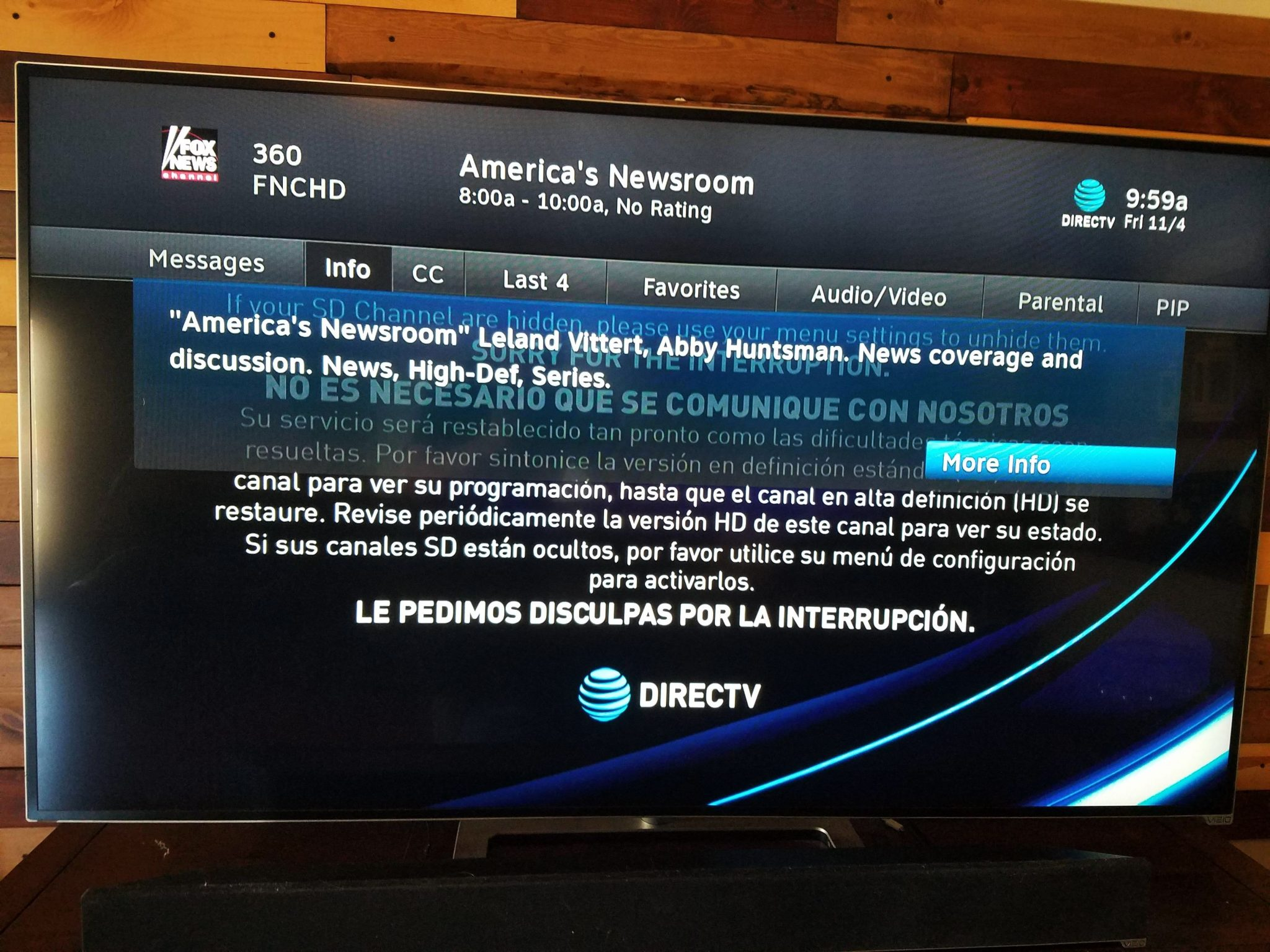 Steps to find what channel is fox on direct TV