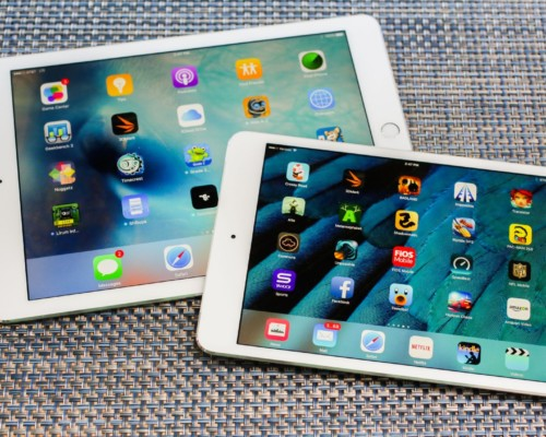 iPad mini 4-Great processor with 8MP iSight Camera, smallest yet powerful
