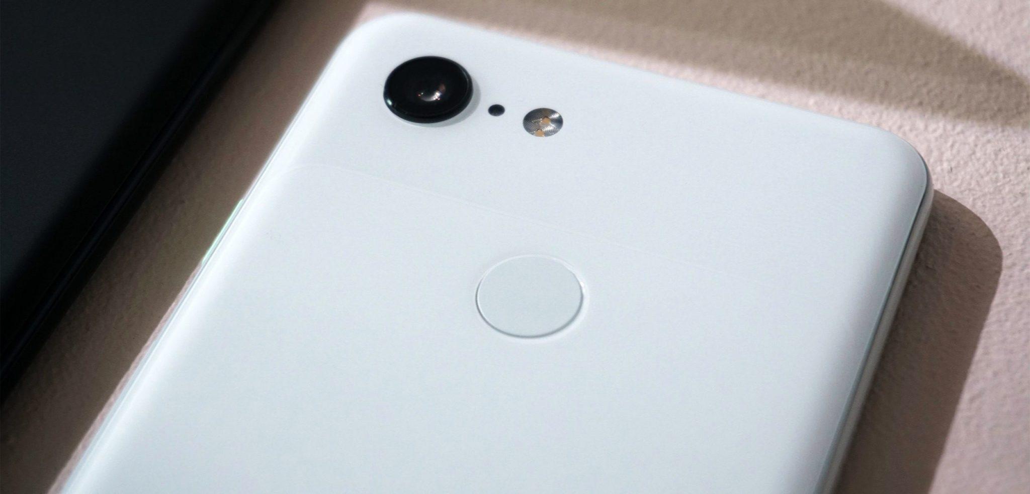 Google Pixel 3 smartphone with Night Sight Camera app