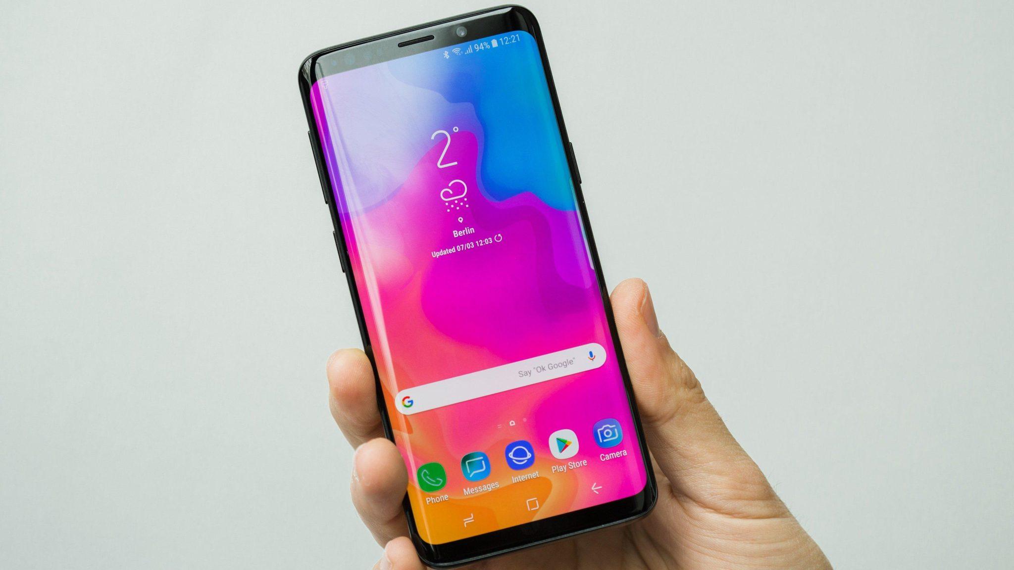 Samsung Galaxy S9 look