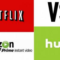 Amazon Prime v/s Netflix v/s Hulu