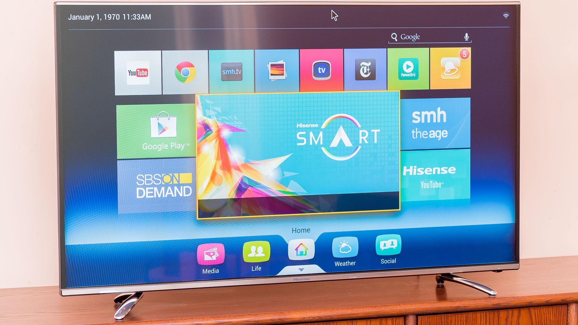 Hisense A6200 4K TV