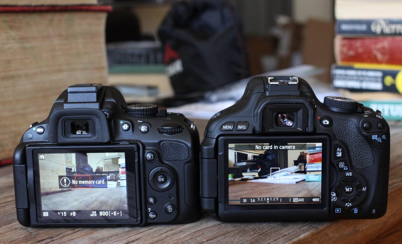 Canon Vs Nikon DSLRs