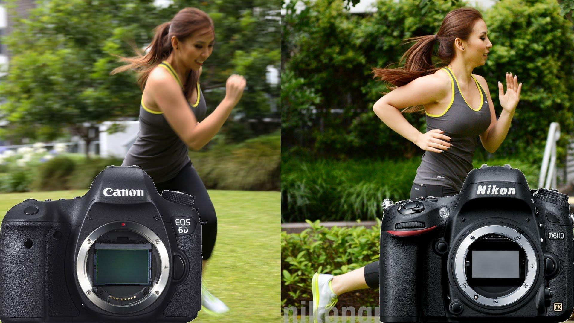 Comparison of Canon Vs Nikon