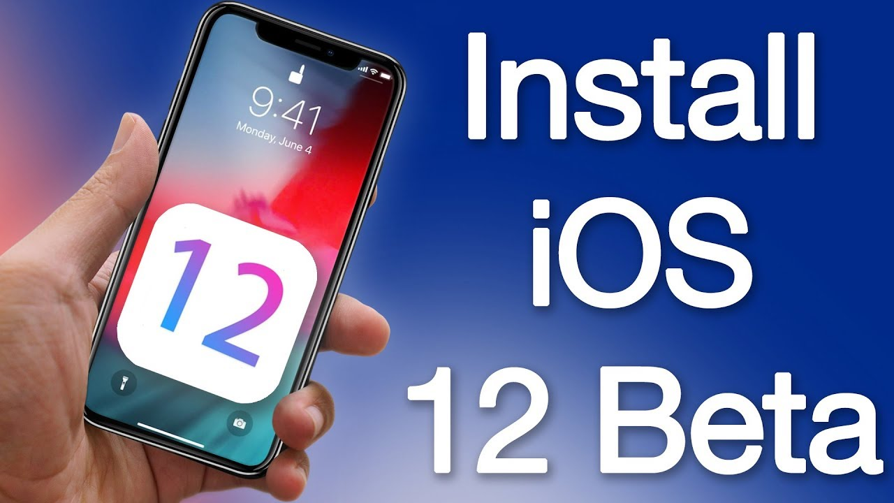 Install IOS Beta