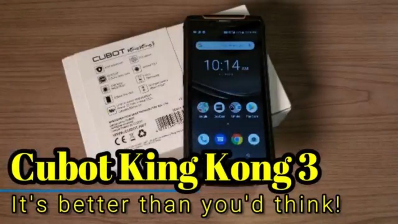 Cubot King Kong Smartphone