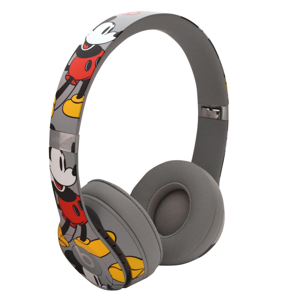 Beats Solo3 Wireless On-Ear Headphones – Mickey's 90th