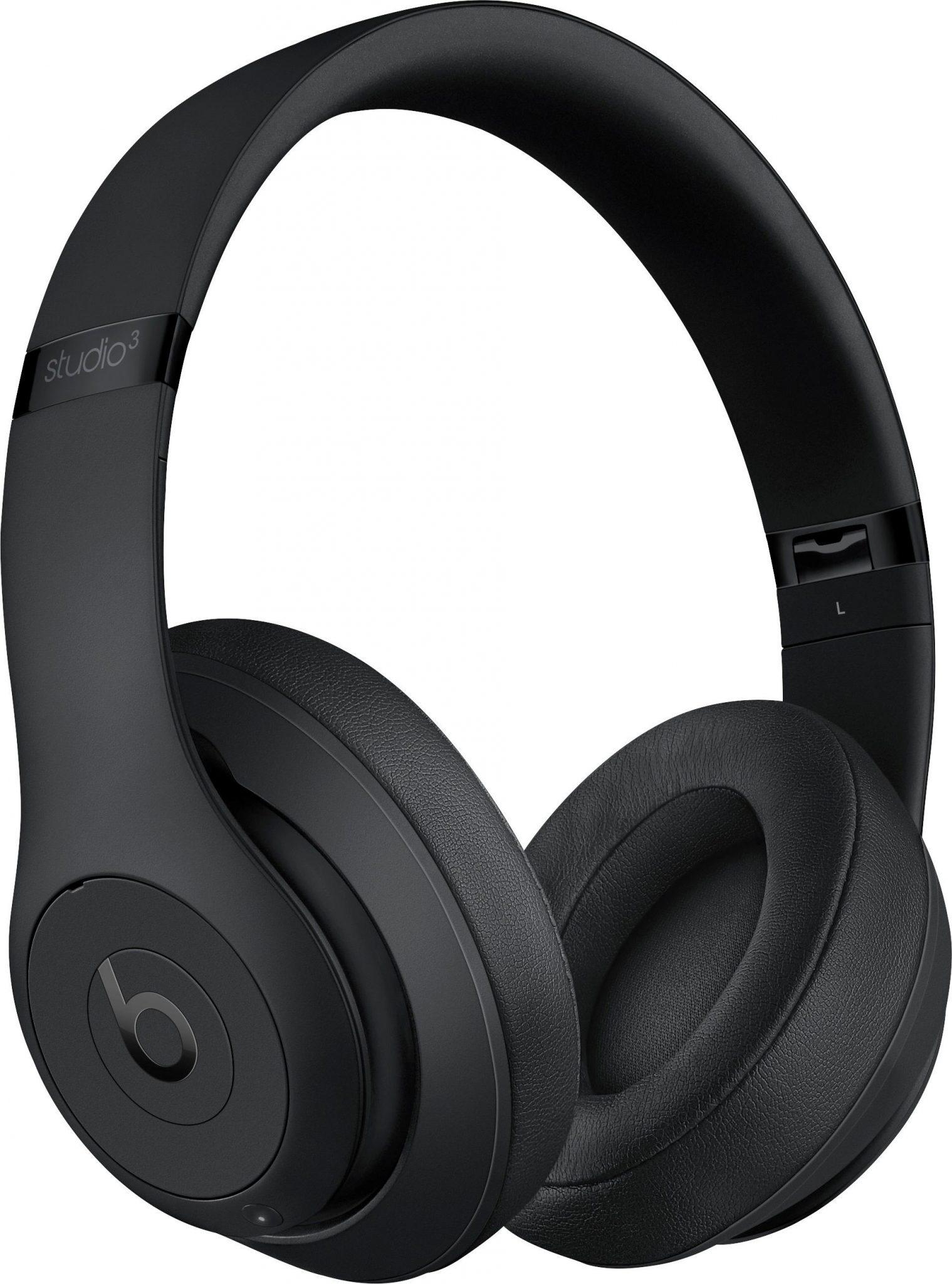 Beats Studio3 Wireless Over-Ear Headphones – Matte Black