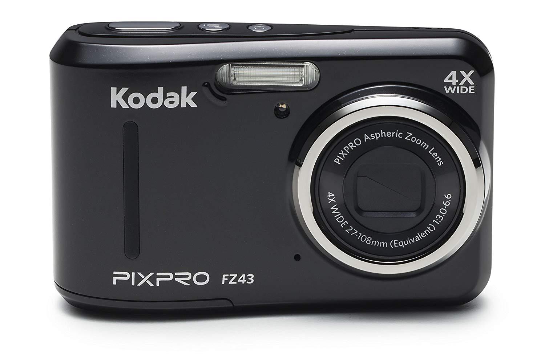 Kodak PIXPRO Friendly Zoom FZ43-BK 16MP Digital Camera
