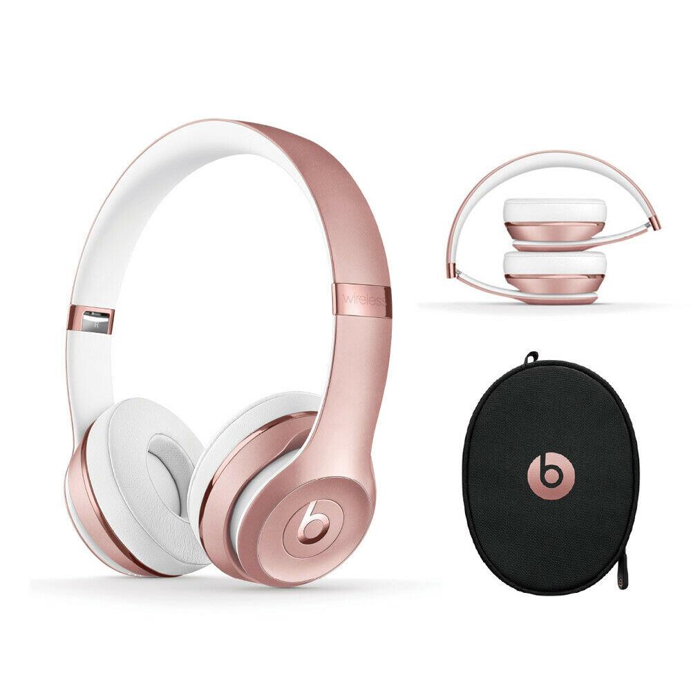 Beats Solo3 Wireless On-Ear Headphones – Rose Gold