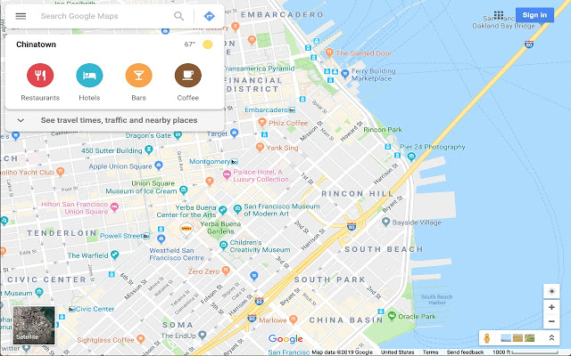 Notification from Google MapsPreview in Google MapsBest navigation tool Google Maps