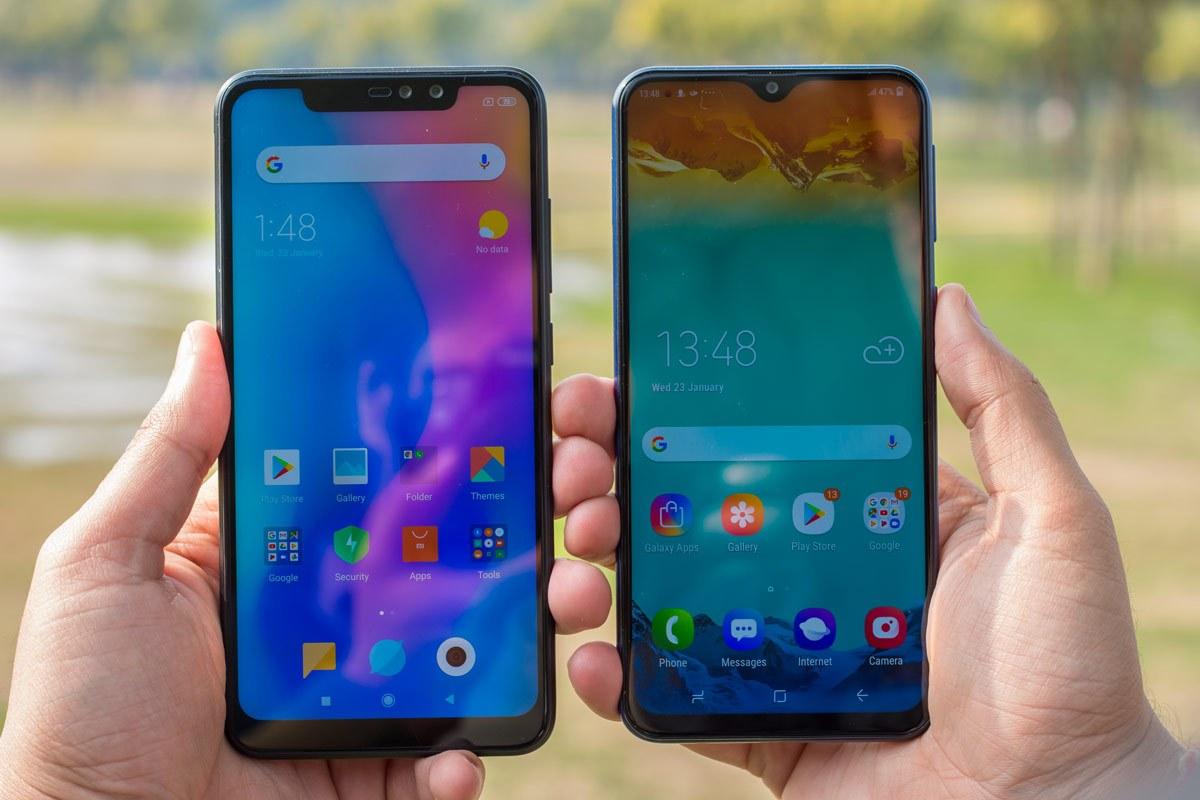Smartphone in mid-range Galaxy M30