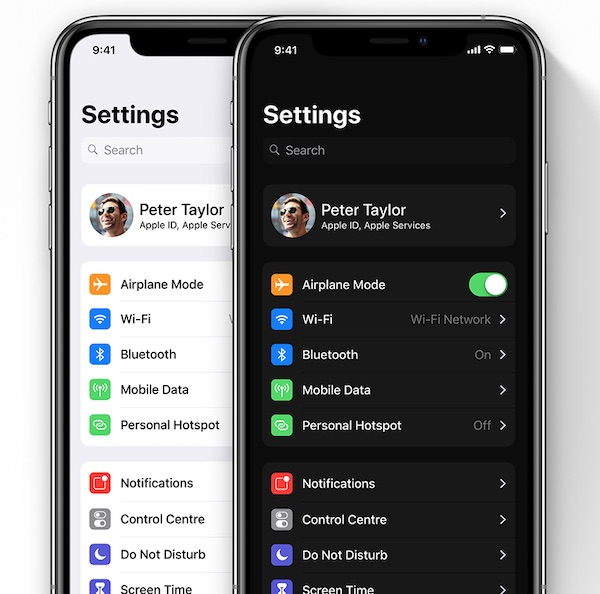 Apple's iOS 13 will display Dark Mode and updated apps