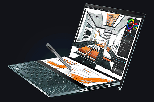 Asus ZenBook Pro Duo: Double Display Laptop