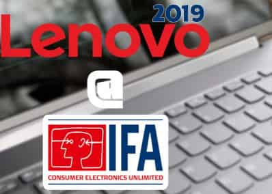 Lenovo IFA 2019 : New Laptops and Monitors at One?